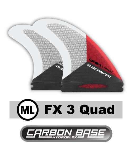Scarfini Carbon Base FX3 Quad (M/L) 1