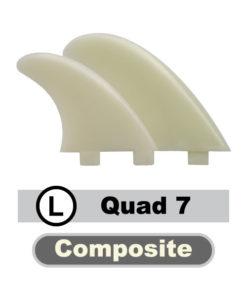 Composite-SCA-7-Quad-Finnen