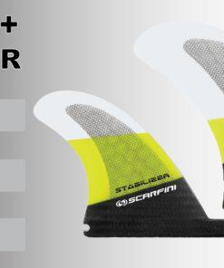Scarfini Twin Fins + Stabilizer 4