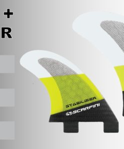 Scarfini Twin Fins + Stabilizer 5