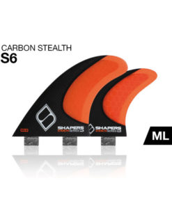 Shapers-Fins-Carbon-Stealth-SQ6-Quad-finnen-FCS