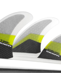 Scarfini Twin Fins + Stabilizer 3