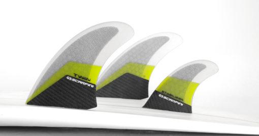 Scarfini Twin Fins + Stabilizer 1