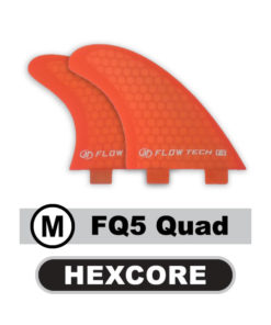 flowtech-quad-fins-medium-kite-surf-board-fq5-hexcore