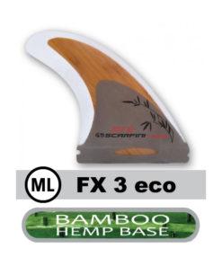 scarfini-eco-bamboo-future-kiteboard-fins-fx-3