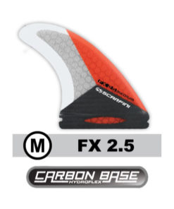scarfini-kite-surf-board-finnen-fx-2-5-medium-carbon-kite-surf-board-finnen-future-north-base-fins
