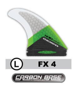 scarfini-kite-surf-board-finnen-fx-4-large-carbon-future-north-base-fins
