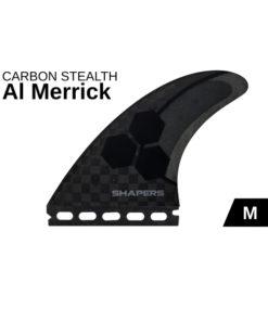 shapers-al-merrick-future-fins-am1-medium-carbon-stealth